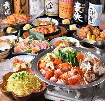 寒い季節にピッタリ♪選べる鍋コース☆