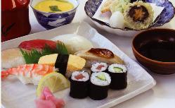 寿司御膳 1000円(税込)