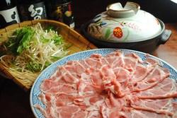 豚肉のしゃぶしゃぶも食べ放題(土日ディナー)