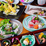 厳選食材を使った お得な宴会コースをご用意しております。