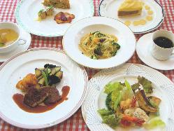 洋食屋さんが作るフルコース料理ランチ2,000〜ディナー3,500〜