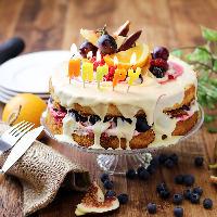 海外発のシンプル&おしゃれケーキでサプライズ♪