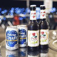 韓国定番ドリンク、アジアビール5種類も飲み放題