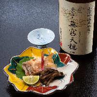 【美酒を揃える】 試飲して厳選した日本酒を種類豊富にご用意
