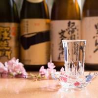 ◆こだわりの美酒◆ クジラ料理と相性の良い地酒・焼酎が充実