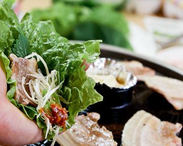 サムギョプサル 韓国料理 李朝園 福島店