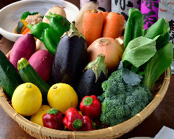 野菜にこだわりあり!!新鮮な野菜をどうぞ♪