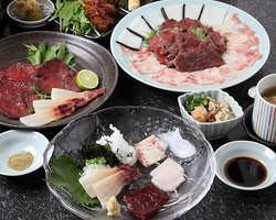 【希少品】鯨フルコース お一人様5,000円~