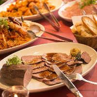 【お料理も美味】 レストラン仕込みの洋食をご堪能ください!