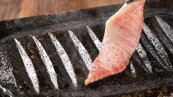 遠赤外線効果でお肉がジューシーに焼き上がります。