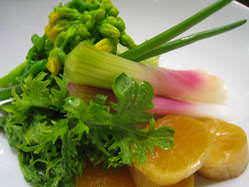 季節野菜のお漬物 411円