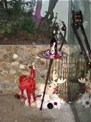クリスマスには可愛いトナカイがお出迎え