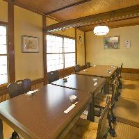 バリエーション豊富な個室。座敷・テーブル席ございます。