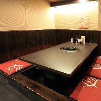 京都町家風のモダンな和空間。