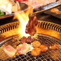 お造り並みの新鮮な地鶏を焼肉スタイルで!コースは2,700円~