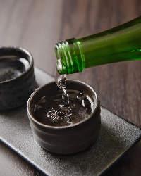利き酒セットをご用意 英勲の飲み比べをお楽しみください