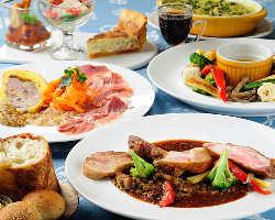 毎日焼き上げるキッシュやフランス惣菜をお楽しみください!