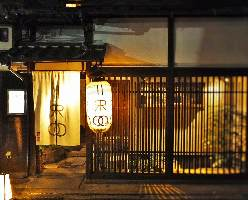 四条堺町に佇む京町家。