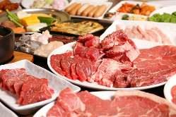【ぜいたくプレミアム】焼肉食べ放題 特選コース3,500円