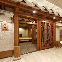 李朝時代の宮廷をイメージした特別貴賓室