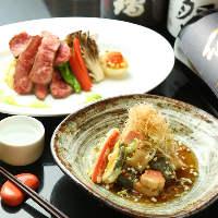 京料理と合うドリンクの種類も充実したラインナップ!