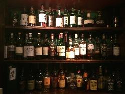 シングルモルトウイスキーを初めお酒の品揃えが豊富!
