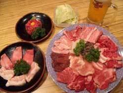 ☆焼肉食べ放題コース☆ お腹いっぱい食べちゃって下さい!!