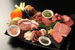 くら乃流宴会 自慢のお肉が存分に楽しめるコース4,000円から♪