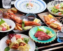 大満足の多彩なコース! 特選京都産焼肉、海鮮料理、京料理♪