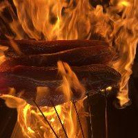 高知直送!カツオの藁焼きタタキ ご注文のたびに炎が上がる!