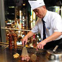 職人の技術で最高級ステーキの旨味は最大限に引き出される