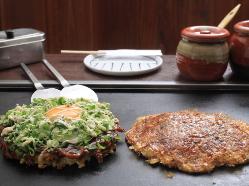 ≪お好み焼きも絶品≫大阪に来たらお好み焼きを堪能して下さい♪