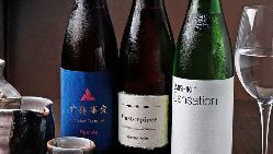 まずは、季節の料理を一皿に込めた八寸をお楽しみください