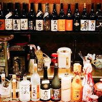 地酒、焼酎も多数。 隠し酒もご用意してますのでご確認を・・・