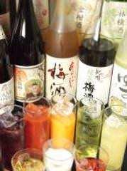 日本酒以外も、飲み放題は豊富にご用意!