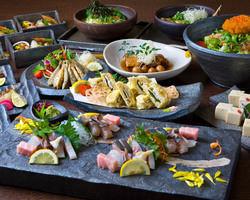 ご宴会にはこだわりのコース料理をお楽しみ下さい。