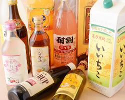 飲み放題も充実♪日本酒や中国酒も入っています!