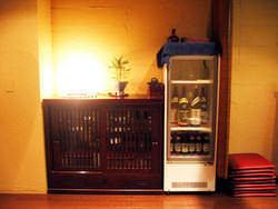 貸切個室はご自身で冷蔵庫から 自由にお酒が飲めちゃう!
