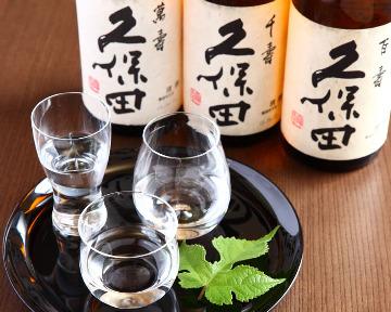 銀座 久保田 朝日酒造直営店