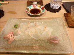 鮮魚ならではの締まった身とほのかに甘い脂をお楽しみください。