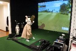完全個室で周りの目がないのでゴルフが初めての方でも大丈夫!