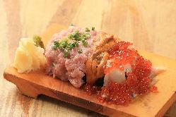 ★大人気こぼれ寿司★ 迫力・コスパ・美味しさを備えた絶品寿司