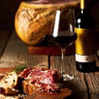 「レアル・ベジョータ」を熟成させた生ハムを上質なワインと