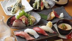 毎朝オーナー自ら買い付ける鮮魚を使った新鮮なネタのお寿司