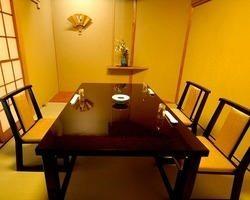全席完全個室。接待、記念日、宴会にお使いください