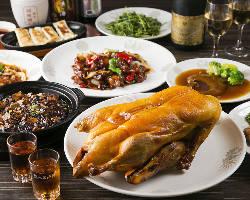 北京ダックや麻婆豆腐など、当店自慢の絶品中華を召し上がれ!