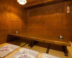 完全個室完備。接待での利用もおすすめの個室です。
