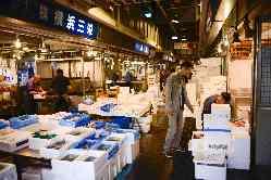 ◆◇魚はすべて魚河岸仕入‥超新鮮な魚介フレンチをどうぞ♭♭