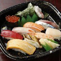 人気テイクアウト寿司!1人前からご予約承ります♪