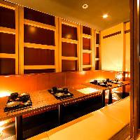 シーンに合わせた様々なタイプの個室をご用意しております。
